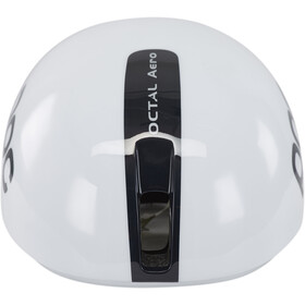 POC Octal Aero Raceday Kask rowerowy, hydrogen white